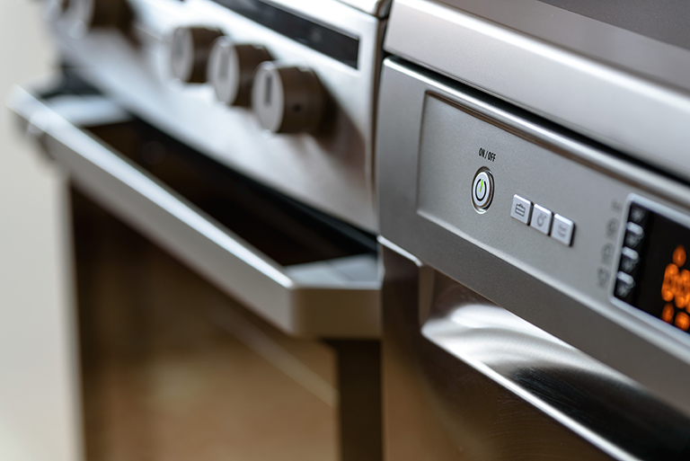 Modern and sustainable home appliances.