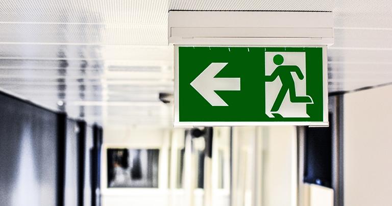 salida de emergencia en caso de terremoto en torrevieja
